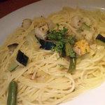 2043807 - ホタテと色々野菜の塩味パスタ(大盛り)