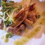 2043864 - 鶏モモ肉のネギ焼き柚子胡椒風味 650円