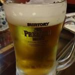 蘭蘭 - 生ビール(中):500円