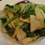蘭蘭 - 炒時菜~中国季節野菜炒め~:840円
