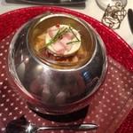 イル テアトリーノ ダ サローネ - マンゴーとシーフードの前菜