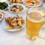 ビアガーデン日本橋 - ビール (スーパードライ、琥珀、黒、ハーフ)