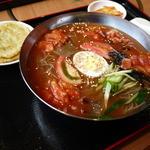 くま3びき - トマト冷麺