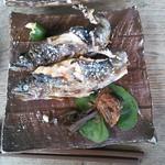 20438237 - 徳兵衛定食の岩魚塩焼き
