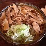 そば処東亭 - 肉そば