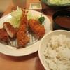 新宿さぼてん - 料理写真:ランチミックスプレート