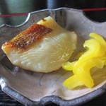 澗水 - カレイの西京焼き