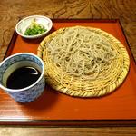 癒しの館 蕎麦処 仙酔庵 - ざる蕎麦です。