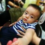 トミーパート2 - 後輩の長男。12月生まれのこの子は、将来はきっと男前になるだろう。