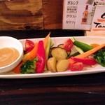 TEBA - 採れたて野菜のうま味噌バーニャカウダー