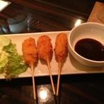 TEBA - 名古屋コーチンのフライ 八丁味噌ソース