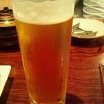 okinawanikusakabanuchigusui - オリオン生ビール(630円)