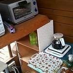 カントリーキッチン木立 - ホットコーヒー・トースター