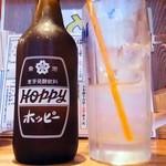 やきとりん モッツマン - ホッピーセット¥400