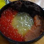 郷土料理 ひろ瀬 - 魚卵丼2100円