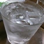 酒菜屋たぬき - 三岳水割り