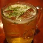 タンドールバル カマルプール - カマルビア(パクチー入りビール)