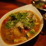 タンドールバル カマルプール - 冷やしスープカレー