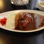 洋食屋キッチンKAZU - ハンバーグカレー