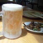 20449924 - ビールセット(Aセット:ビール+スジコン炒め)750円