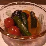 十祇家 - 夏野菜の南蛮漬け