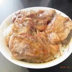 辛獅子 - とろとろなんこつ丼のちびサイズ。