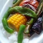 20452492 - 夏野菜カレー 600円