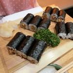 山さん寿司 - 納豆巻き