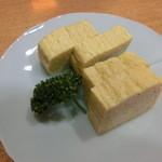 山さん寿司 - 玉子焼き