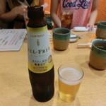 山さん寿司 - ノンアルコール・・・(;´∀`)