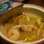 稲毛屋 - 冬瓜の冷やし鉢(680円)