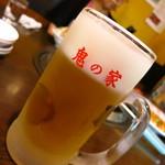 鬼の家 - 生ビール550円