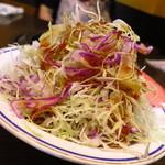 鬼の家 - キャベツサラダ(ハーフサイズ)350円