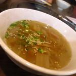鬼の家 - 鬼の家スープ430円