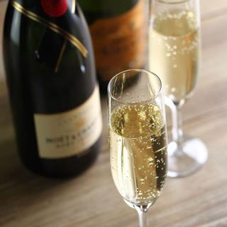 Luxury 個室 Dining VT - 人気のスパークリングワイン