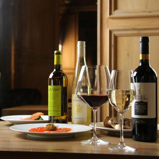 Luxury 個室 Dining VT - 在庫豊富な世界のワイン