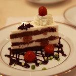 サロン・ド・テ・ミュゼ イマダミナコ - 黒い森のケーキ