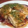 ア・ビアント - 料理写真:キャベツたっぷり広島風お好み焼き
