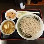 東京うどん - 東京うどん900円+サービス鮭ごはん