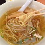 中華食堂 紅龍 - 本日の日替りランチ 680円のハーフラーメン