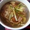手打ち蕎麦の秀峰庵 - 料理写真:カレー鴨南そば