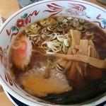 五百川食堂 - あっさり醤油ラーメン。