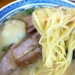 ラーメンセンター本陣 - チャーシュー麺_2013年8月