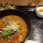 20469867 - 人気の担担麺餃子セット ¥850