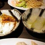 KOREAN CUISINE RESTAURANT 五湯道   - カレー、冬瓜スープ