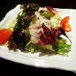 本格手打ち蕎麦   あげおのかくれ庵 喜いち郎 - 料理写真:ランチサラダ