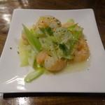 前門 - 海老の塩葱炒め・レモンソースde