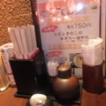 丸海屋 - テーブルの上 【 2013年8月 】