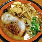 麺屋 一本気 - みそらー麺・めんま(2013年8月)