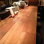 料理店 Caiotto - 木のぬくもりが暖かなバーカウンター